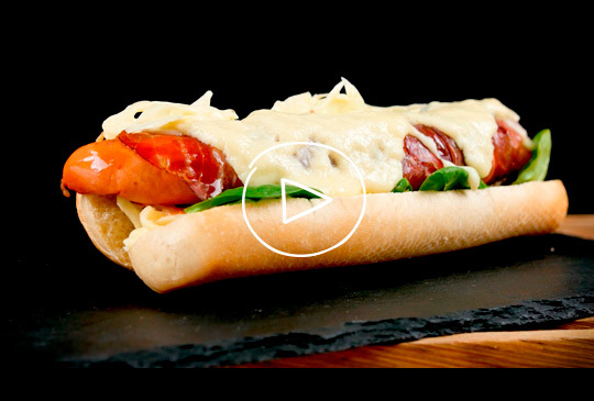 Trentino Goloso Hot-Dog
